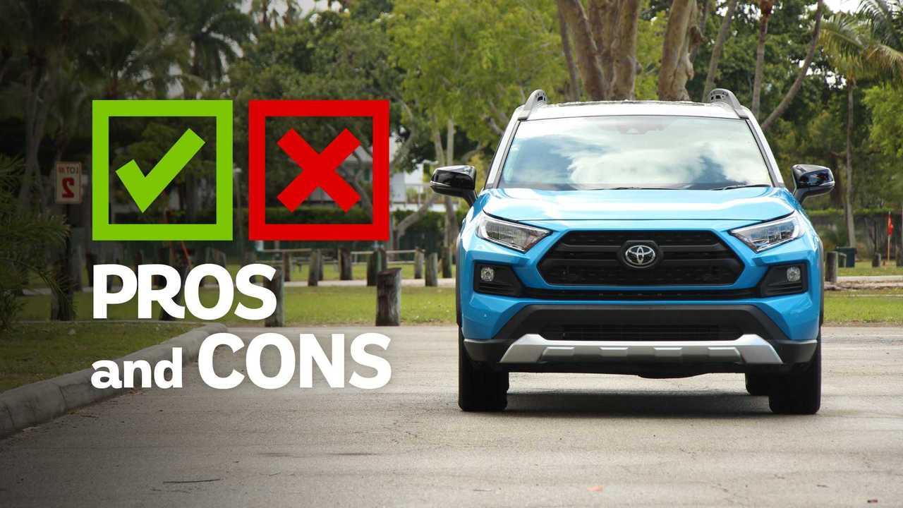 2019 Toyota RAV4 Adventure: Pros And Cons