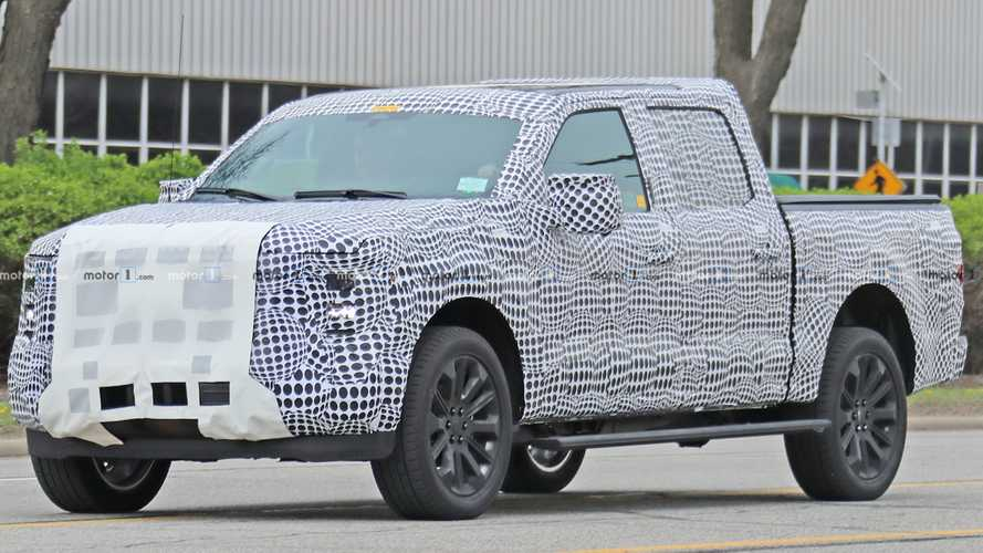 Next-Gen Ford F-150 Spied For the First Time In Heavy Camo