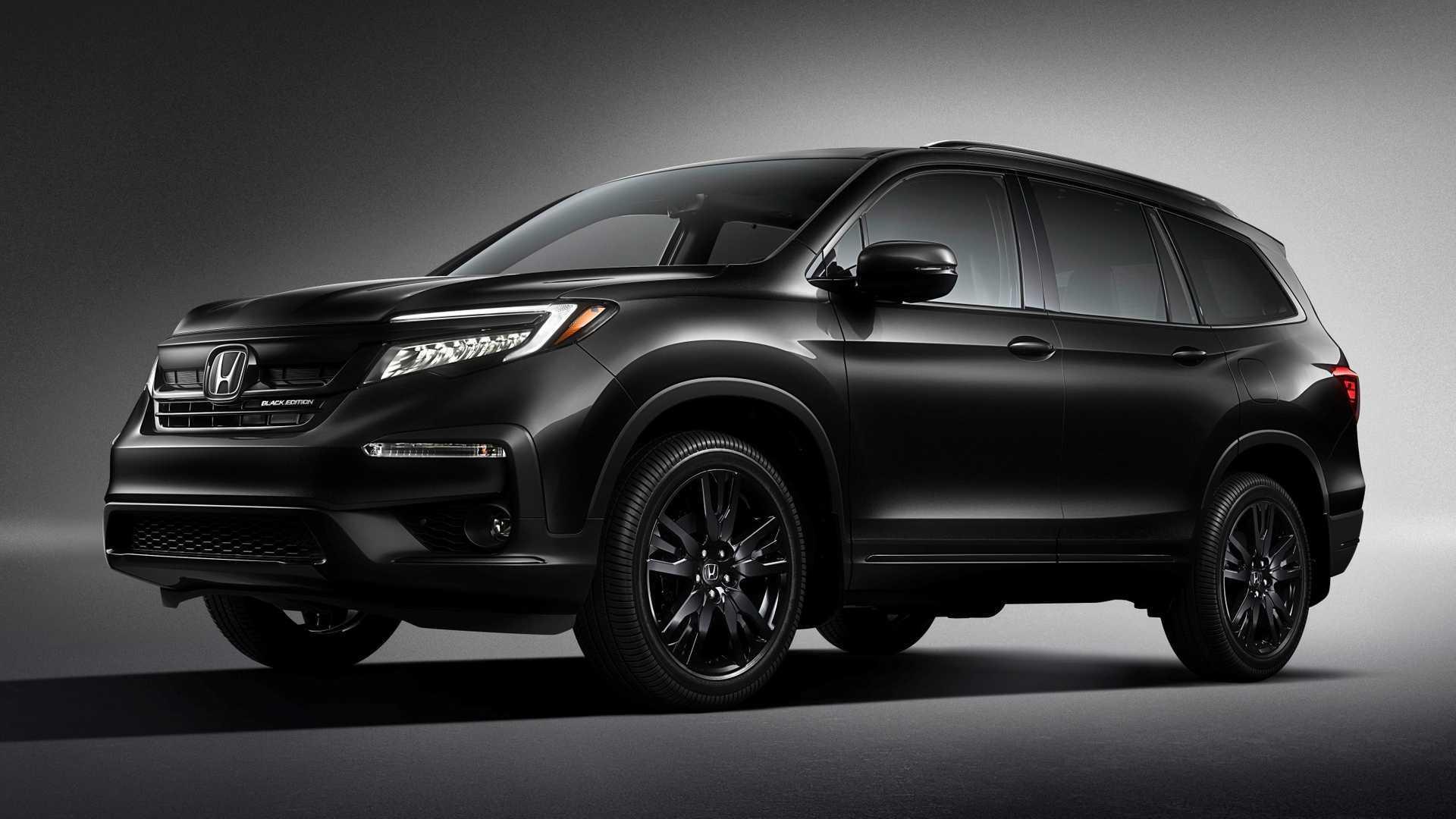 New Honda Pilot >> 2020 Honda Pilot Black Edition Is New Range Topping Trim