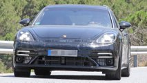 Porsche Panamera Sport Turismo Refresh Spy Shots