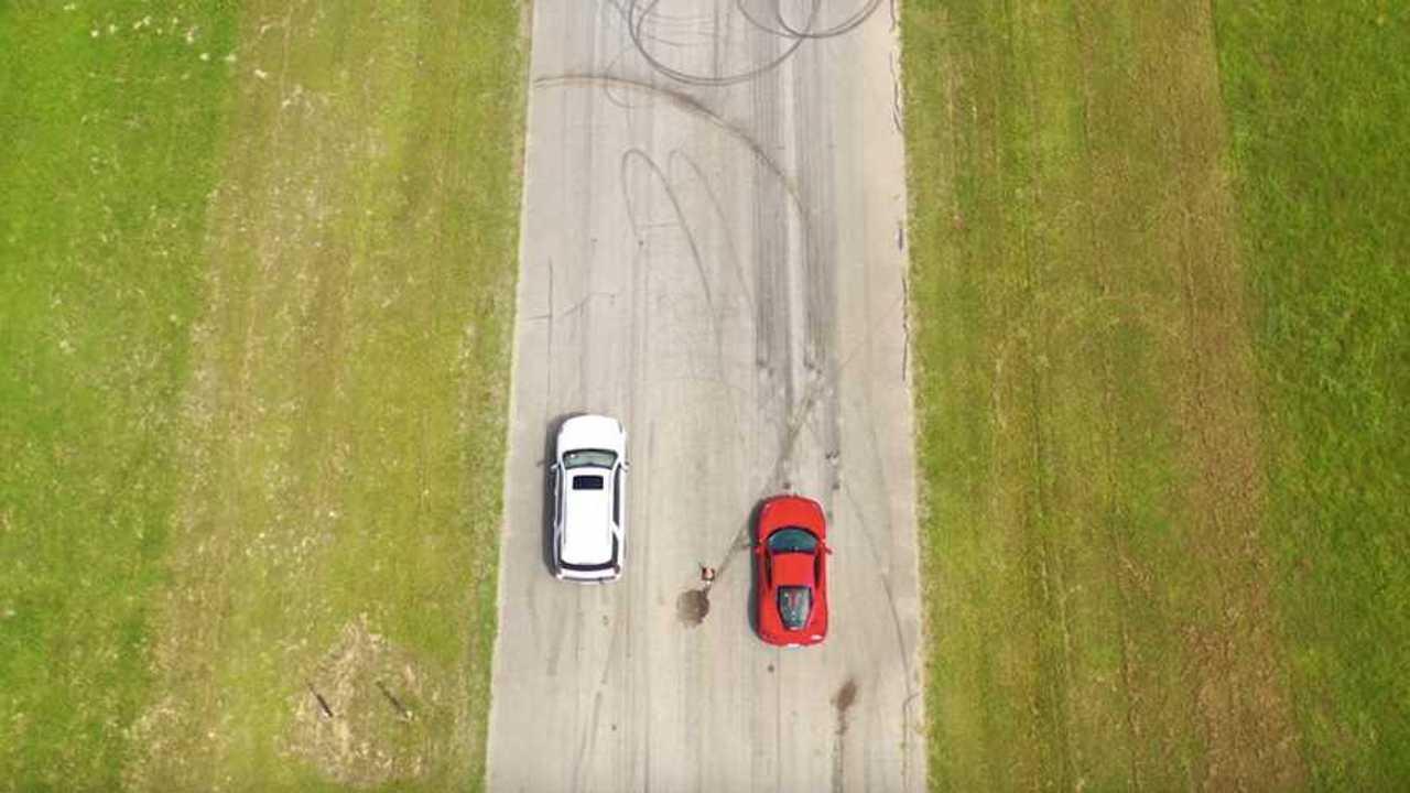 Hennessey Cadillac Escalade vs. Ferrari 488