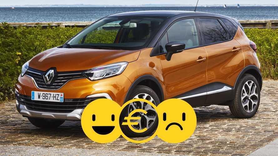 Renault Captur, perché conviene e perché no