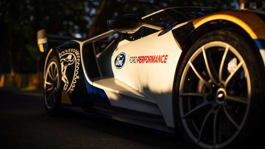 Ford GT Mk II Livery Is Actually Paint, Not Decals