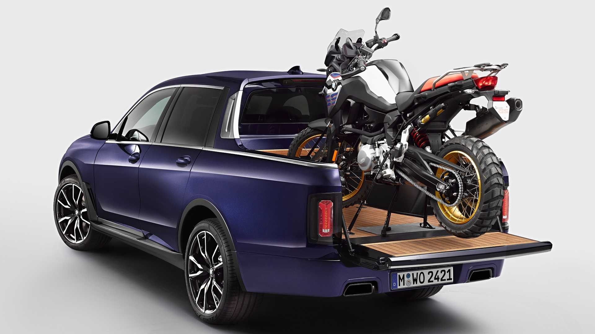 Bmw Pickup Truck >> Bmw X7 Official Pickup Truck Is A One Off Luxury Workhorse
