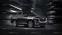 Cadillac Escalade, i render della nuova generazione