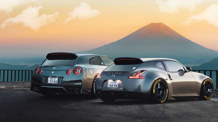 Nissan GT-R, 370Z Shooting Brake rendering gives old models new life
