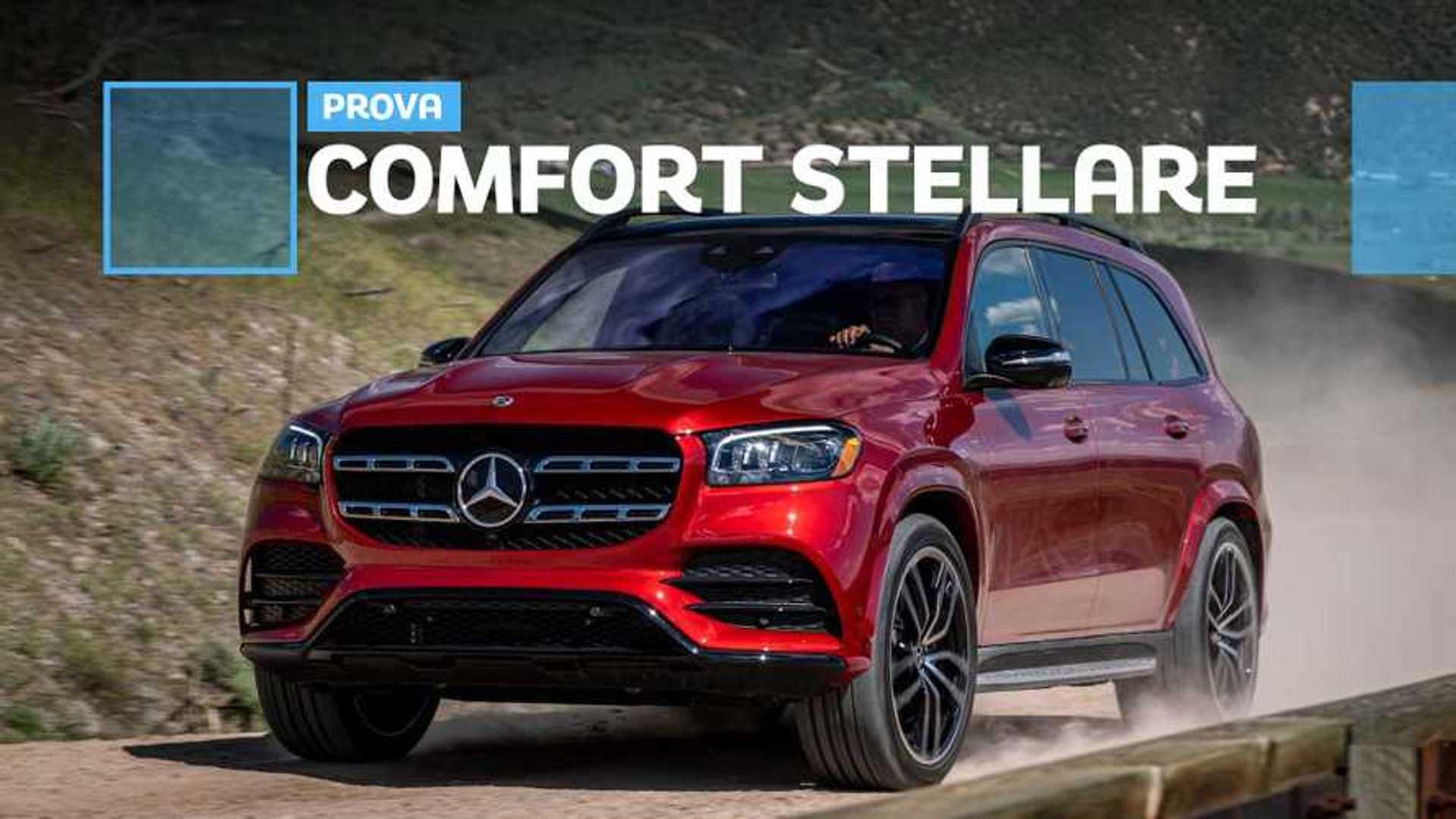 Nuova Mercedes GLS, il meglio che la Stella possa offrire
