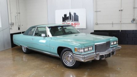 Let a 1975 cadillac deville transport you in vintage style