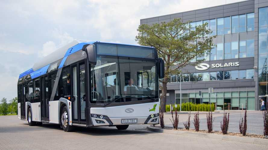 BVG (Berlin) Orders 90 Solaris Urbino 12 Electric Buses