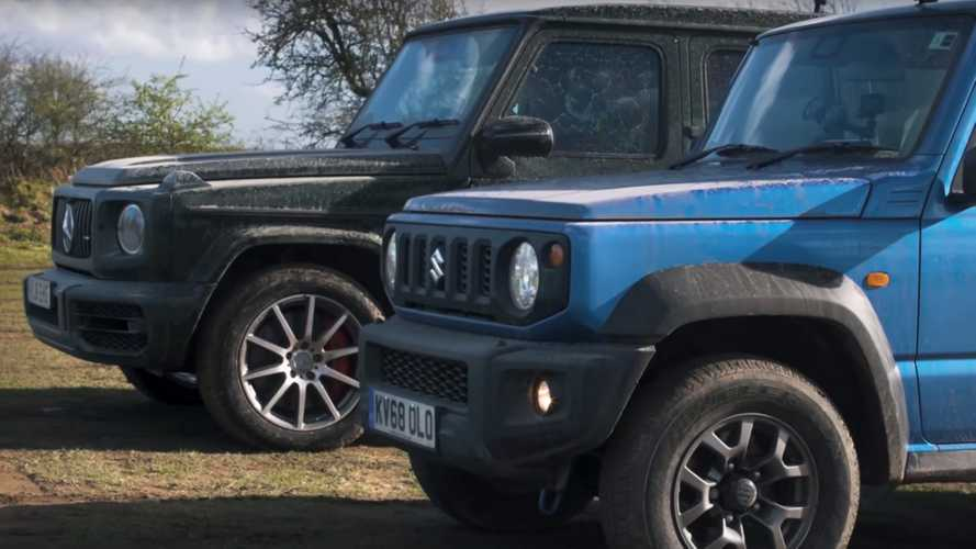VIDEO - Le Suzuki Jimny s'attaque au Mercedes-AMG G63
