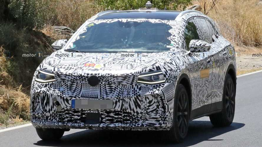 VW I.D. Crozz makes spy photo debut with production body