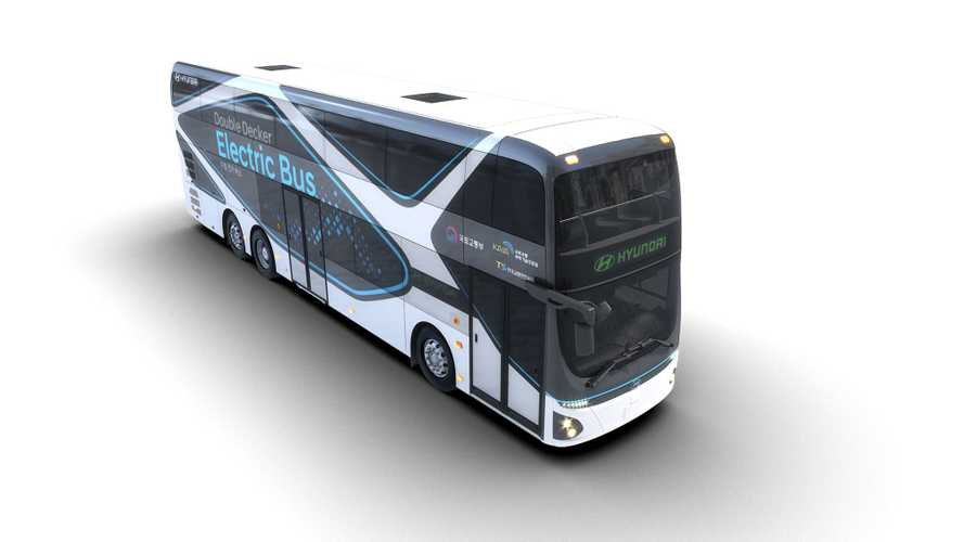 Hyundai Double-Decker Electric Bus Can Go 186 Miles
