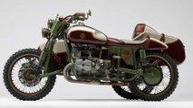 amazing custom ural sidecar rig