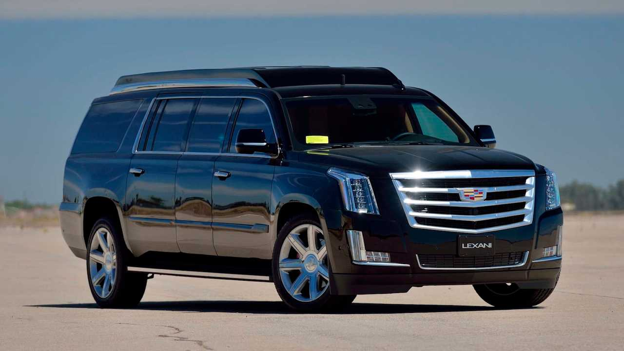 Limo For Sale >> Stretched Cadillac Escalade Is An Opulent Limo SUV You Can Own