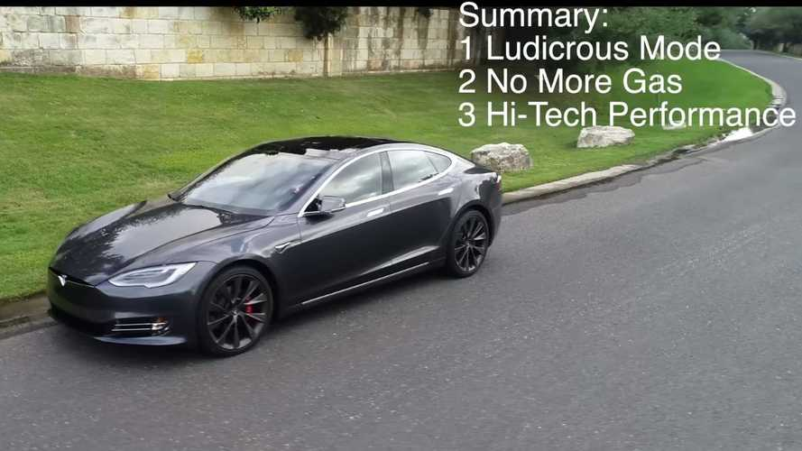 This Guy Traded In A Porsche Panamera Turbo For A Tesla Model S: Video