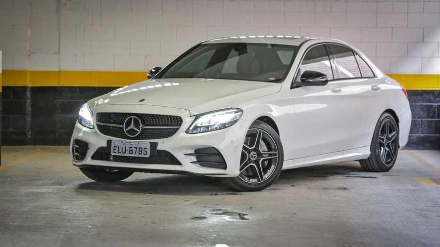 Mercedes Classe C iguala vendas do BMW Série 3 em fevereiro