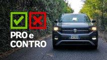 volkswagen t cross 10 tsi style pro e contro
