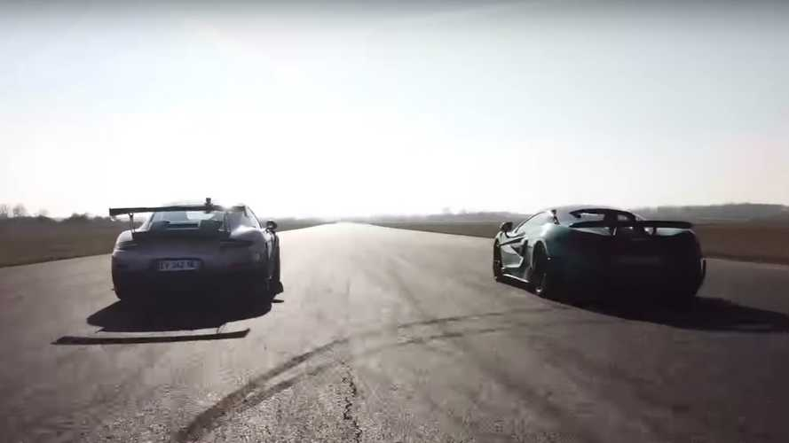 Porsche 911 GT2 RS Duels McLaren 600LT In Short Drag Race