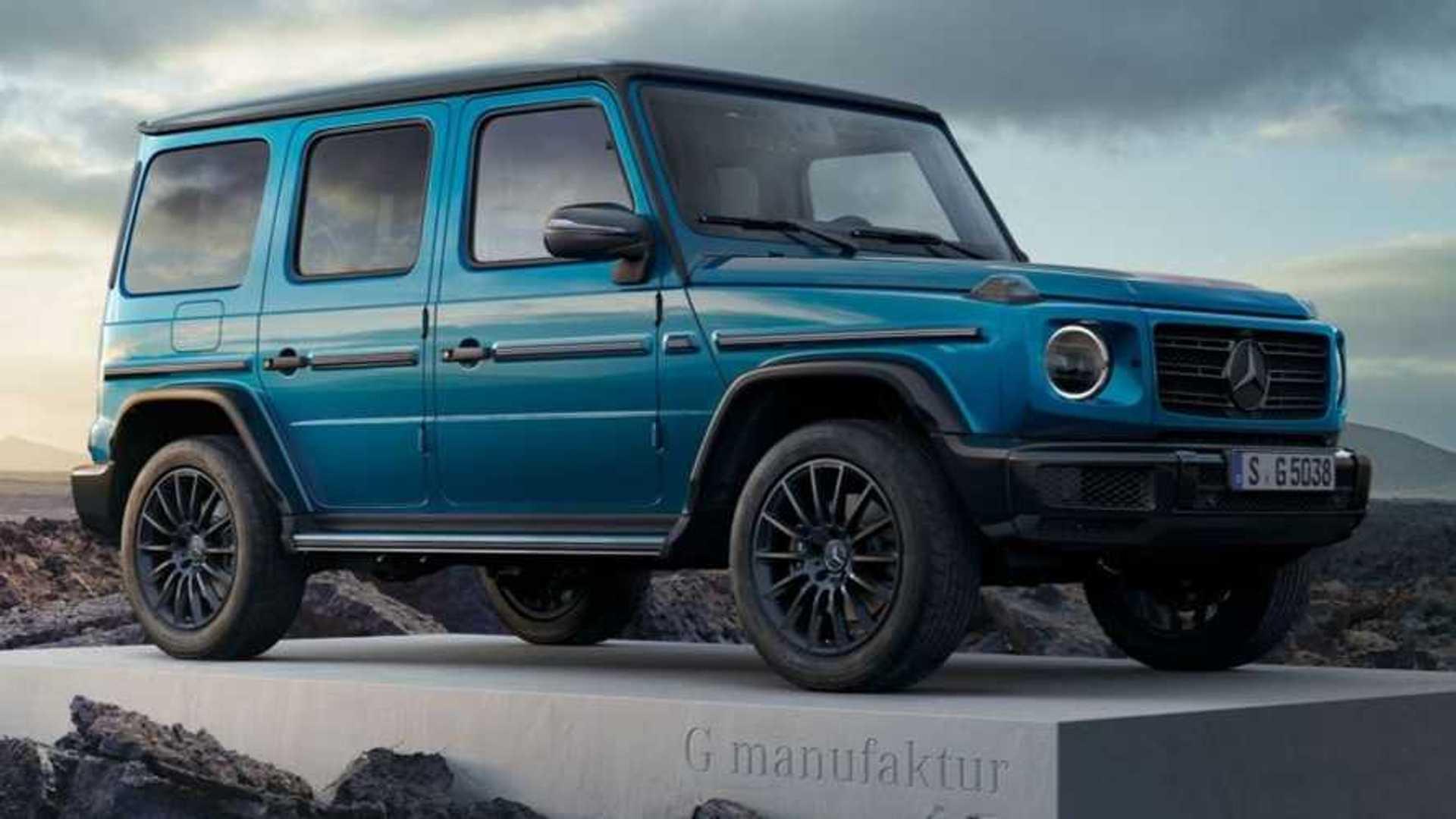 Mercedes G Manufaktur Lets You Create