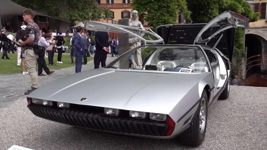 Villa d'Este'deki bir başka konsept: 1967 Lamborghini Marzal