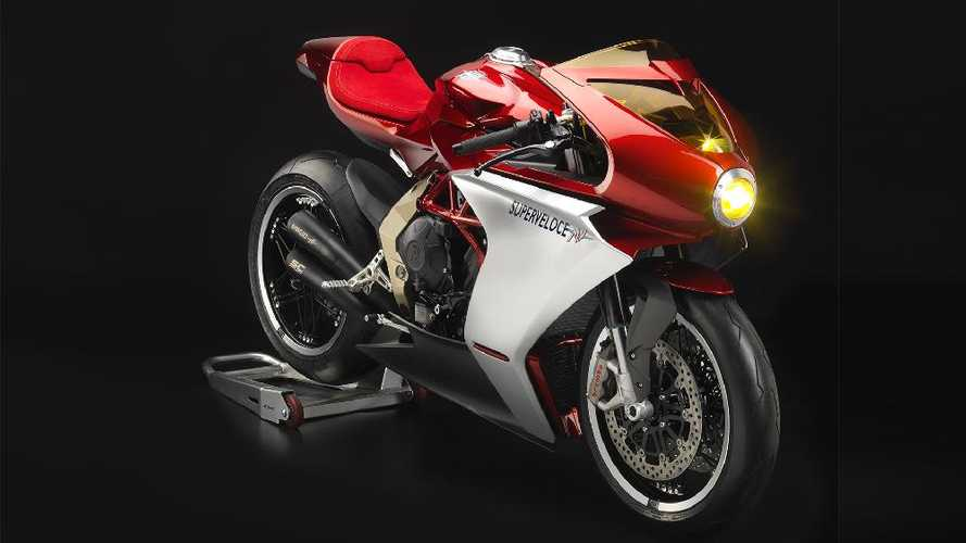 The Red Hot MV Agusta Superveloce Serie Oro Begins Production