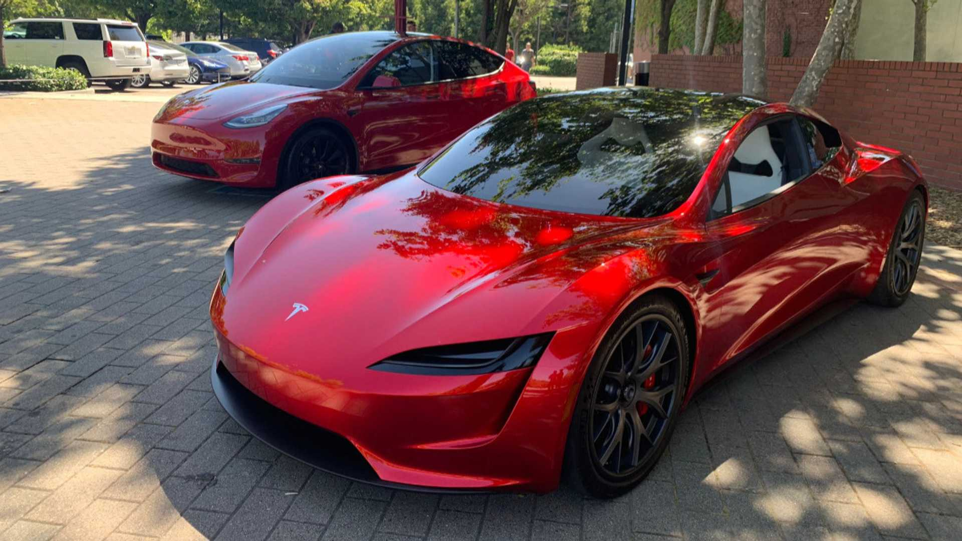 Tesla Model Y, 3 Won't Go Plaid: Model S, X, Roadster Will - Tesla Truck?