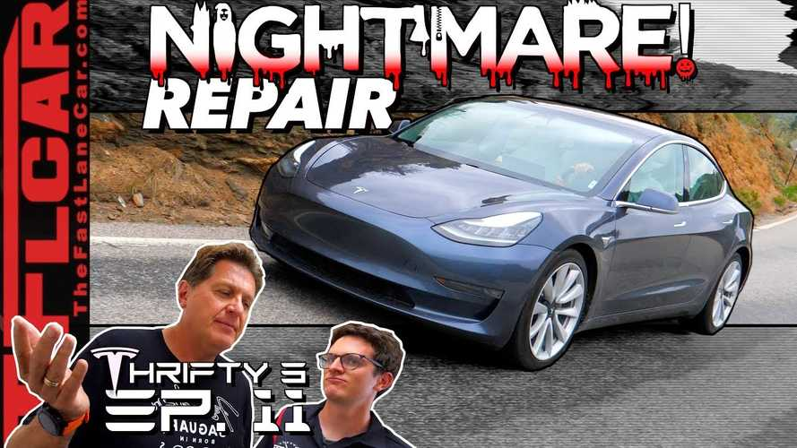 The Situation With This Reviewer's Tesla Model 3 Is Not Going Well