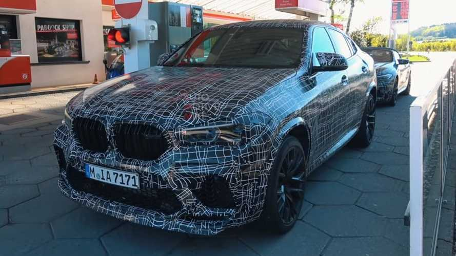 New BMW X6 M and its 600+ horses caught at the Nurburgring