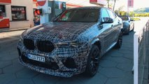 2021 bmw x6 m spy video