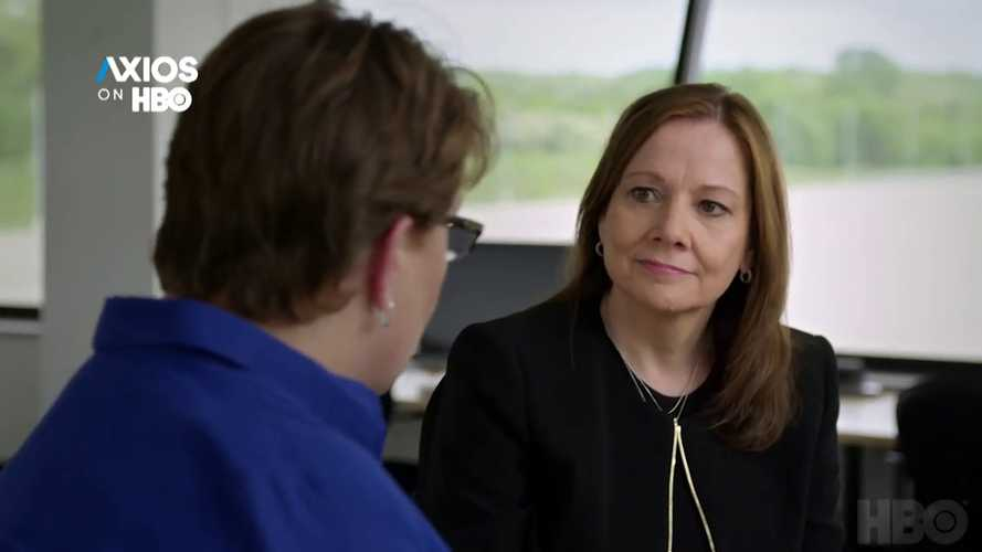 Axios Asks GM CEO Mary Barra About Self-Driving Cars, Tesla, & S3X