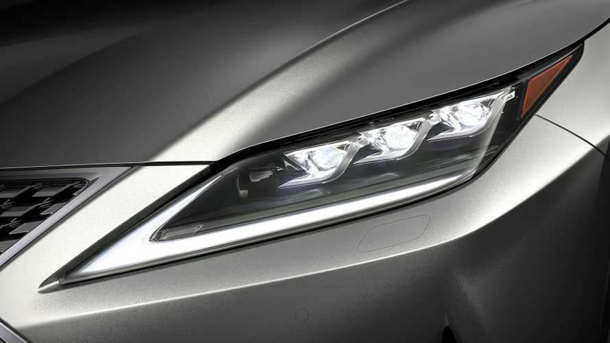 Lexus Bladescan adaptive headlights debut as cutting edge illumination