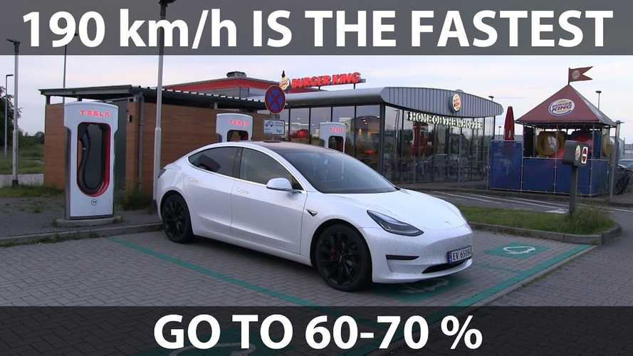 In Search For Optimal Cruising Speed Of Tesla Model 3: Video