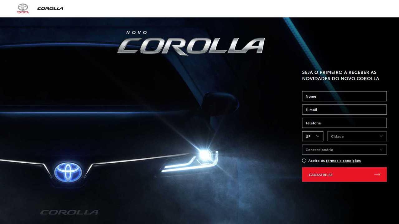 Toyota Corolla 2020 - Hotsite