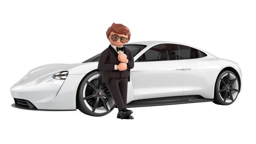 Porsche, le elettriche debuttano al cinema con Playmobil