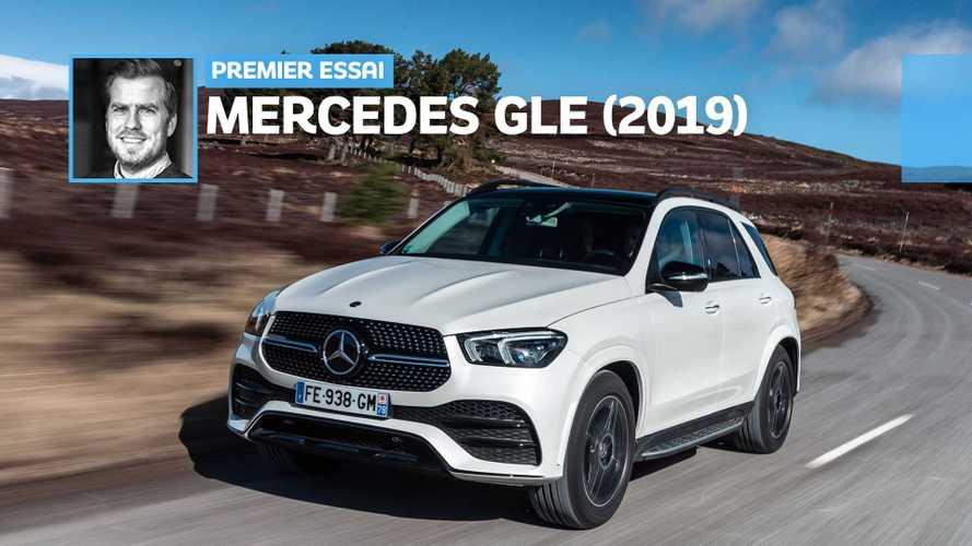 Essai Mercedes GLE (2019) - Première classe