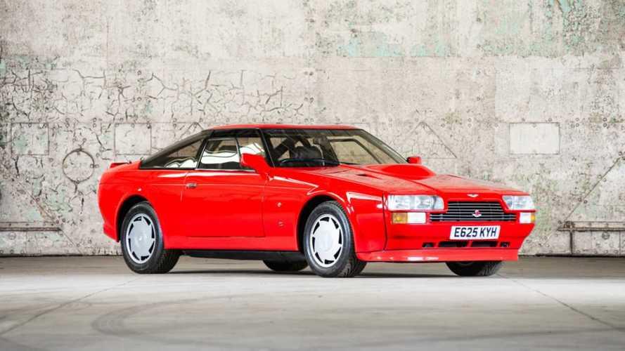 Un prototype d'Aston Martin V8 Zagato Coupé est à vendre