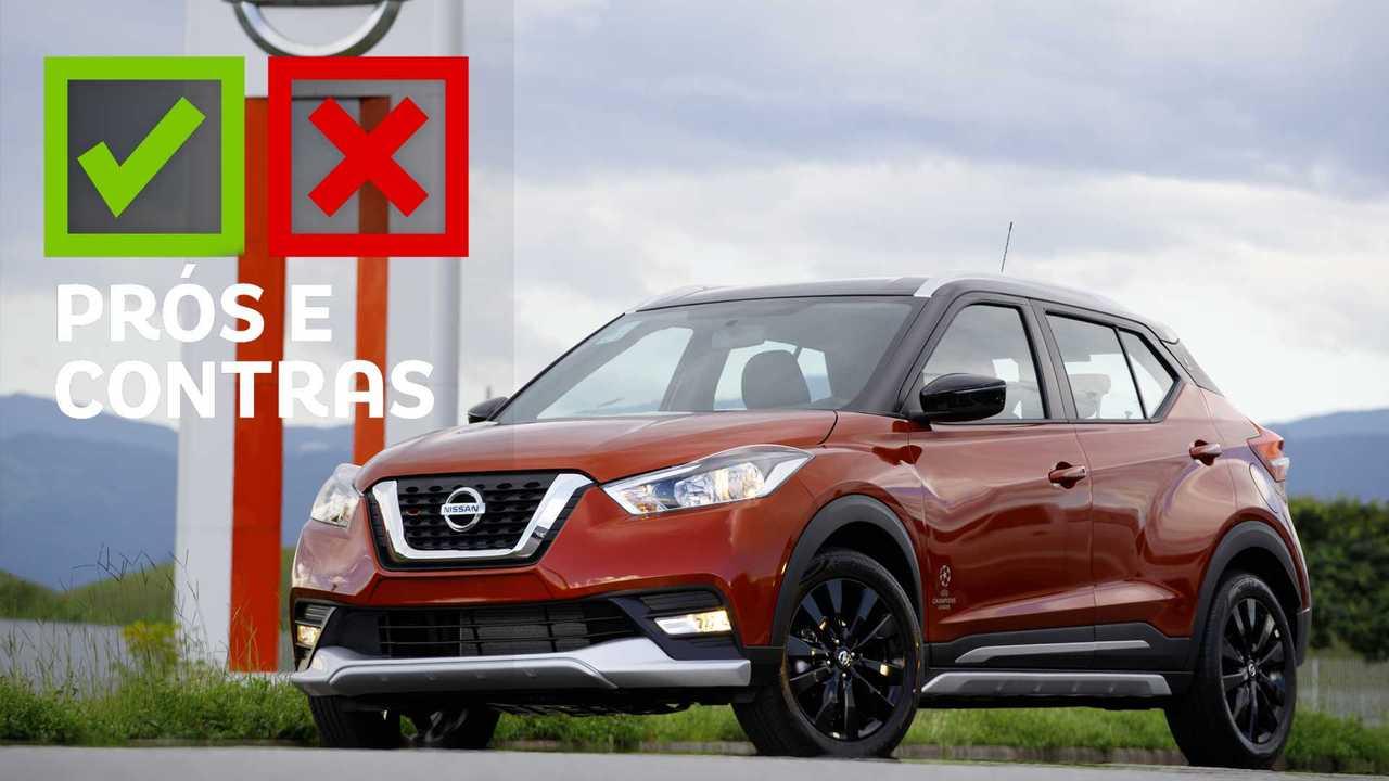 Nissan Kicks UEFA - Prós e Contras