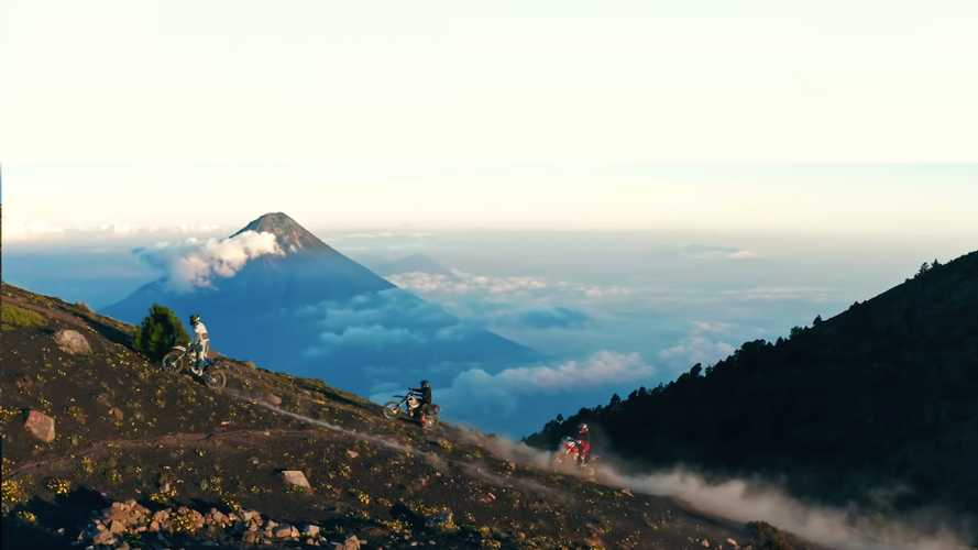 Awesome Video Takes Us On A Ride Up Two Active Volcanoes