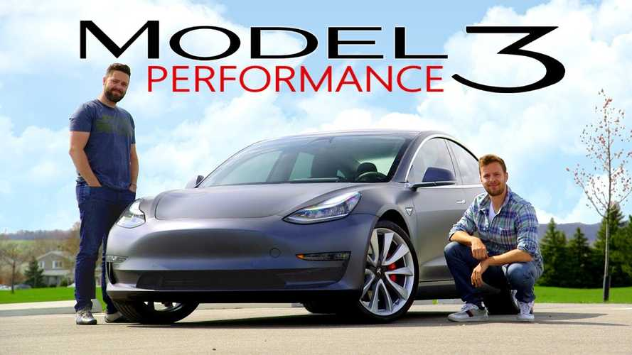 Video: Throttle House Road Tests Tesla Model 3 Performance