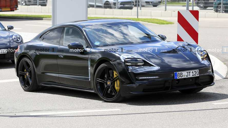 Porsche Taycan Caught Almost Naked In Latest Spy Shots