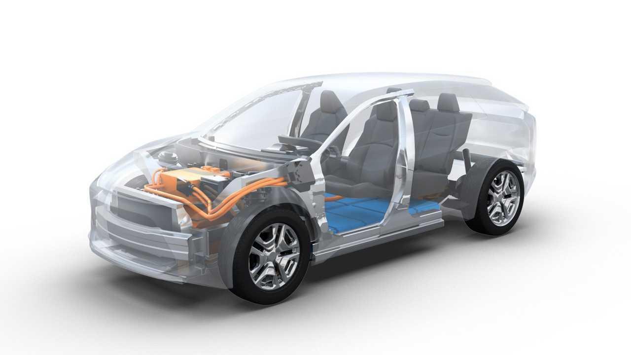 Gemeinsame Elektro-Plattform von Toyota und Subaru (2019)