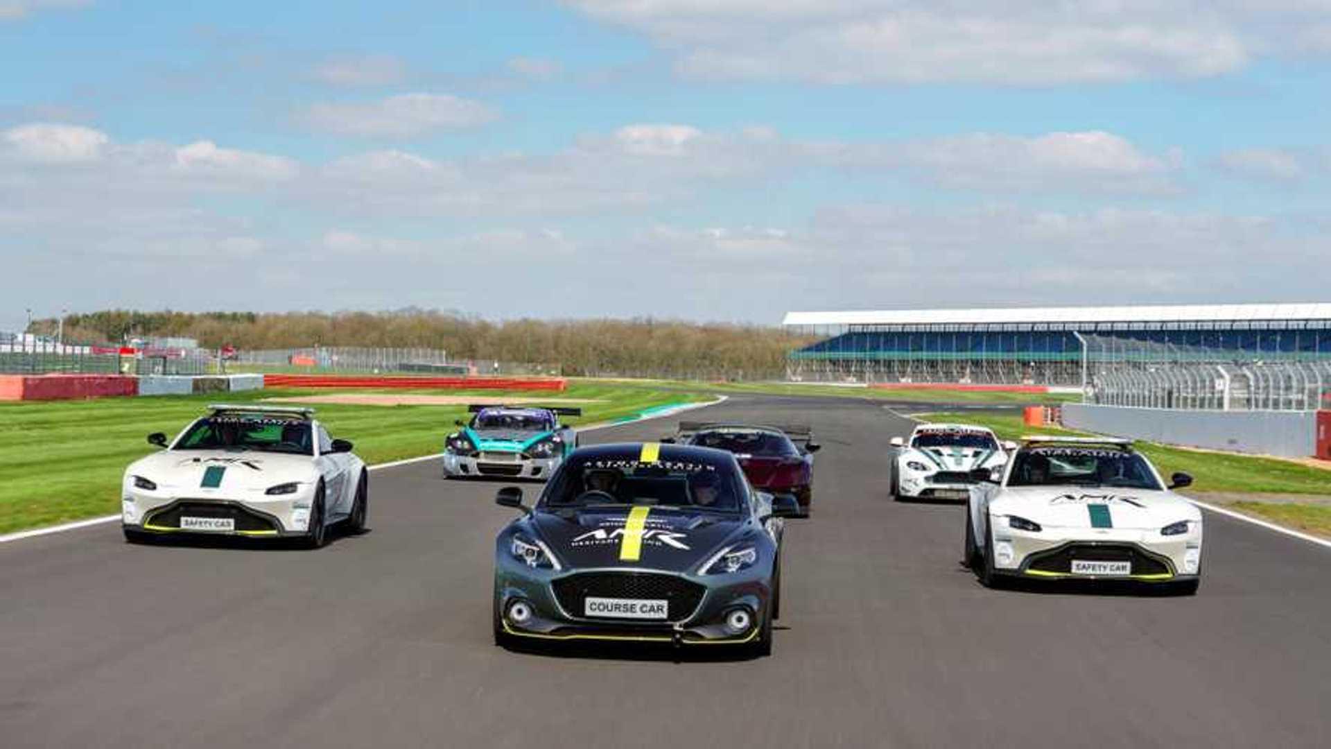 """[""""Aston Martin/Silverstone Classic""""]"""