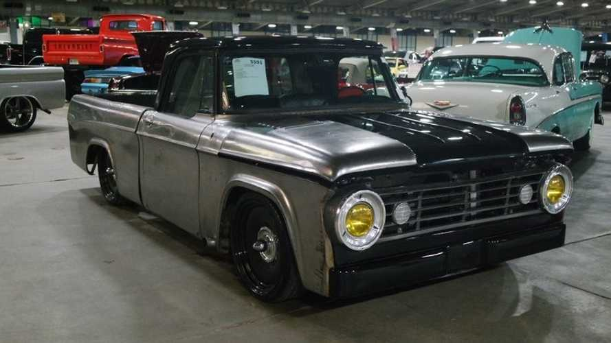 Gothic 1966 Dodge D100 Rat Rod Heads To Auction