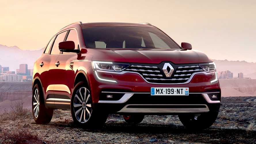 Renault prices up new £28,195 Koleos SUV