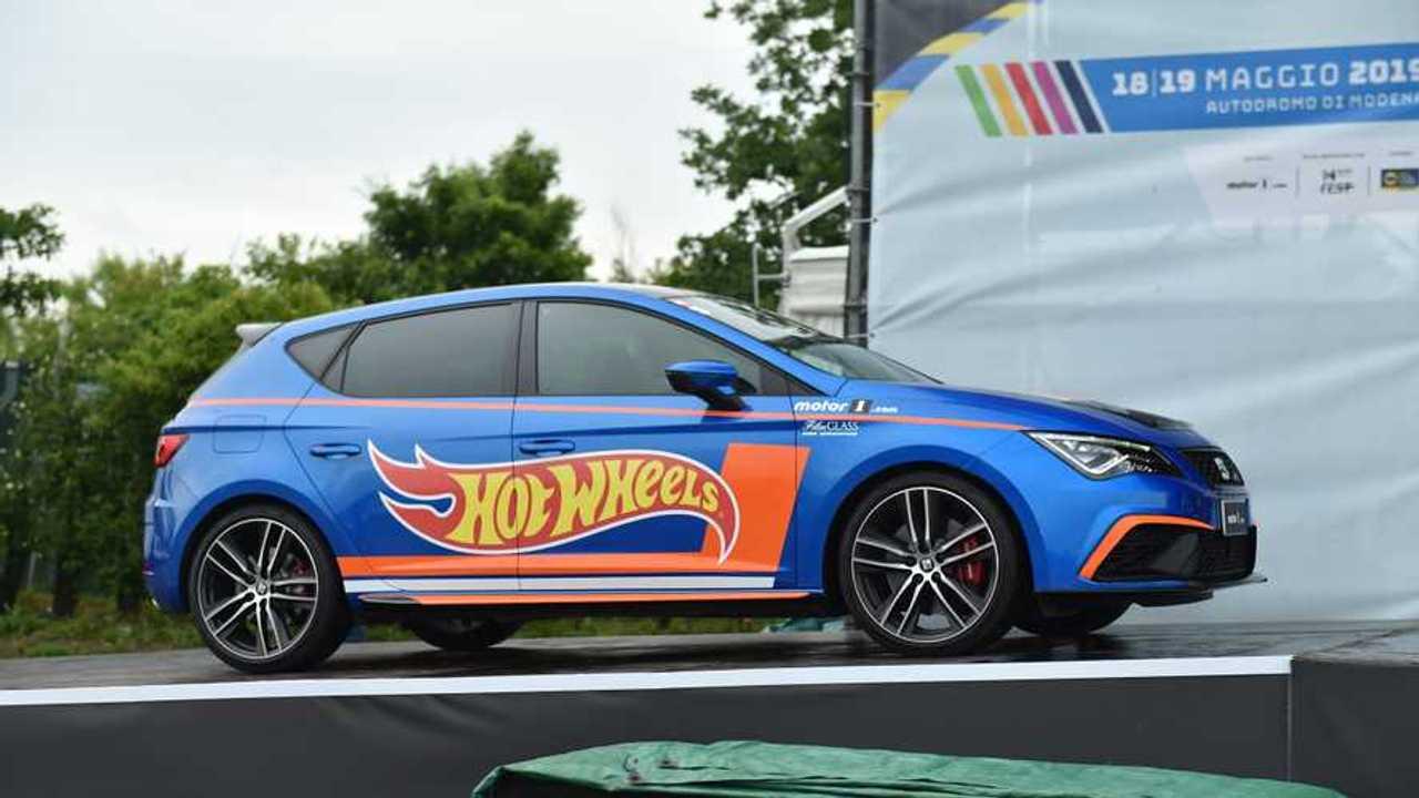 SEAT Hot Wheels en Motor1Days 2019