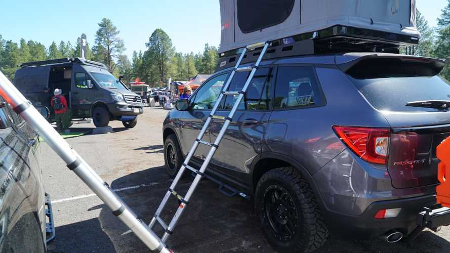 Honda Ridgeline And Passport At 2019 Overland Expo