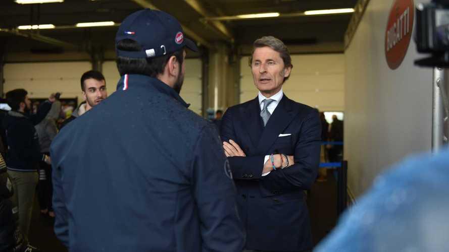Stephan Winkelmann encore partagé sur l'hybride pour Bugatti