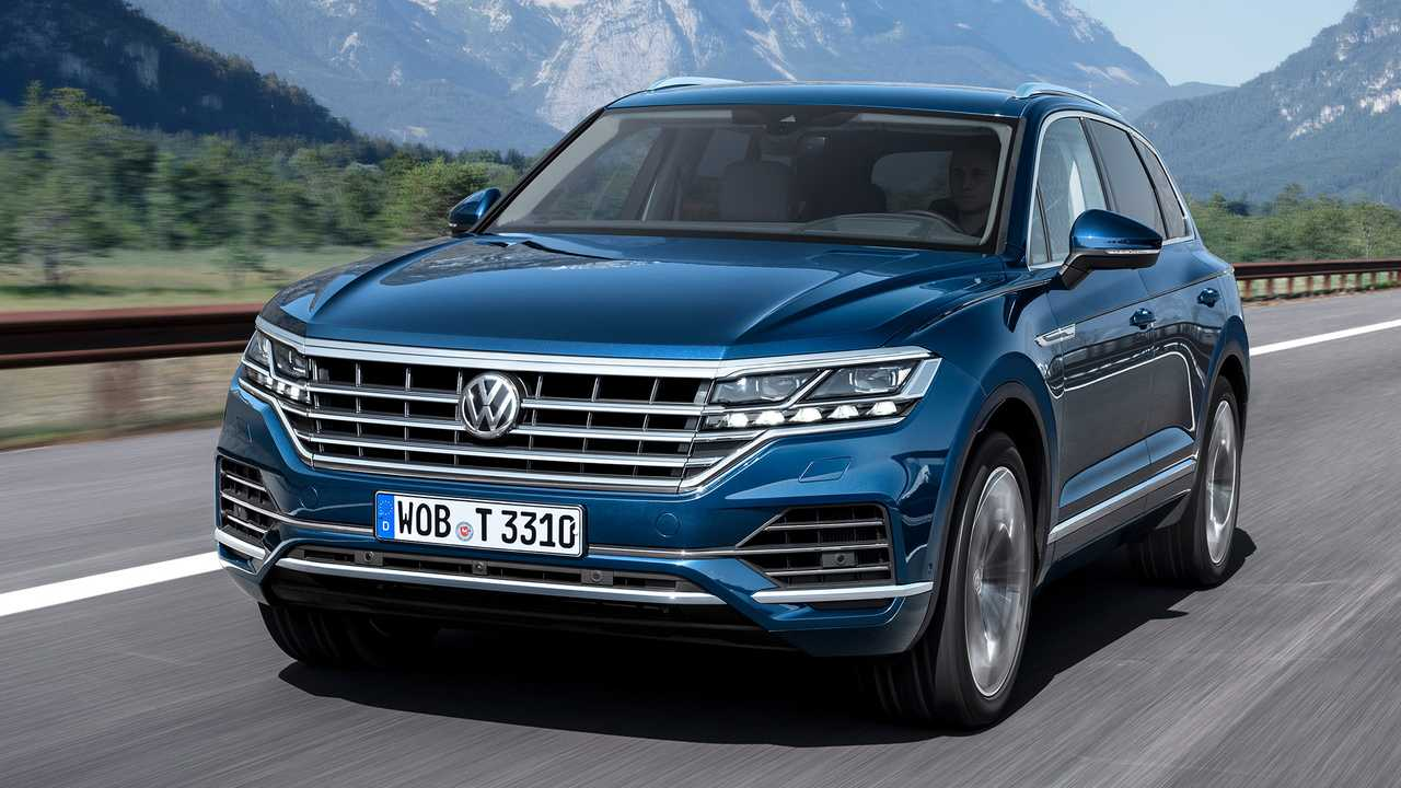 Autos mit krassem Grill: VW Touareg
