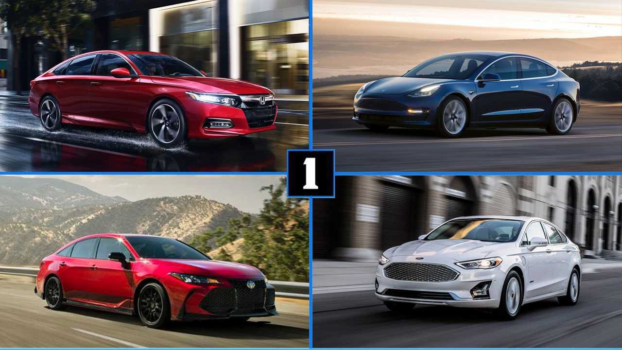 Five Sedans With Self Driving Features