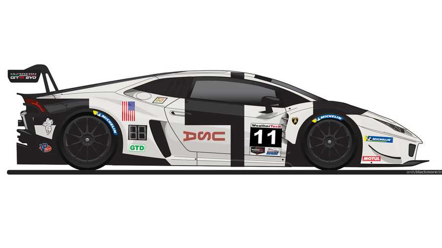 Lamborghini Huracan GT3 Evo To Run Apollo 11 Tribute Livery At Lime Rock